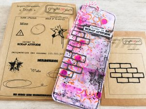 Tuto Marque-pages Graffiti Girl